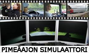 Pimeäajon simulaattori